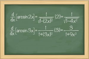 مشتق توابع معکوس مثلثاتی — به زبان ساده