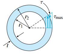 لوله دایره ای در شرایط بارگذاری پیچشی
