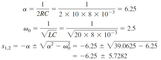 ریشههای معادله مشخصه
