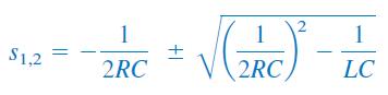 ریشه های معادله مشخصه