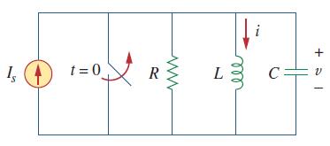 مدار RLC موازی با جریان اعمالی