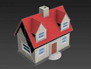 آموزش 3Ds Max: ساخت یک خانه سه بعدی کوچک — راهنمای گام به گام