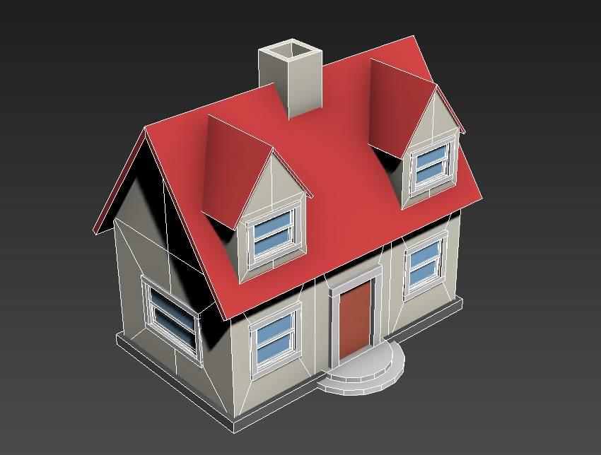 ساخت یک خانه سه بعدی کوچک در نرمافزار 3Ds Max