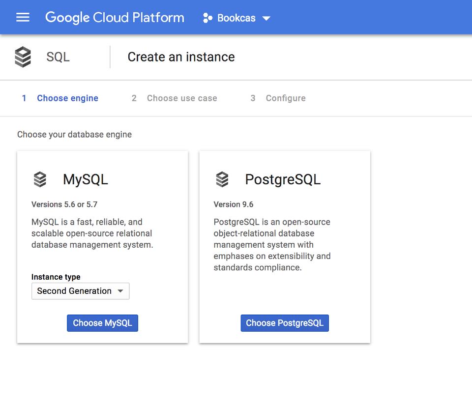 Google SQL