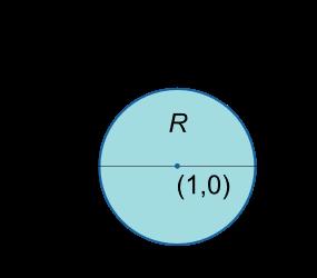 ناحیه R برای مثال 4