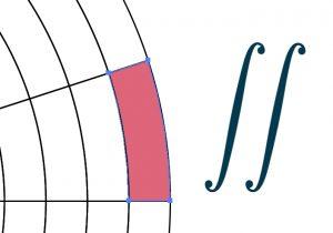 انتگرال دوگانه در مختصات قطبی — به زبان ساده