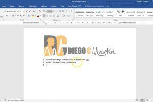 قرار دادن تصاویر در سربرگ و پاورقی اسناد Word – راهنمای کاربردی