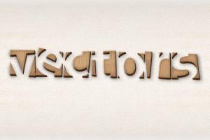 آموزش ایلاستریتور: طراحی متن با جلوه چوبی — راهنمای گام به گام