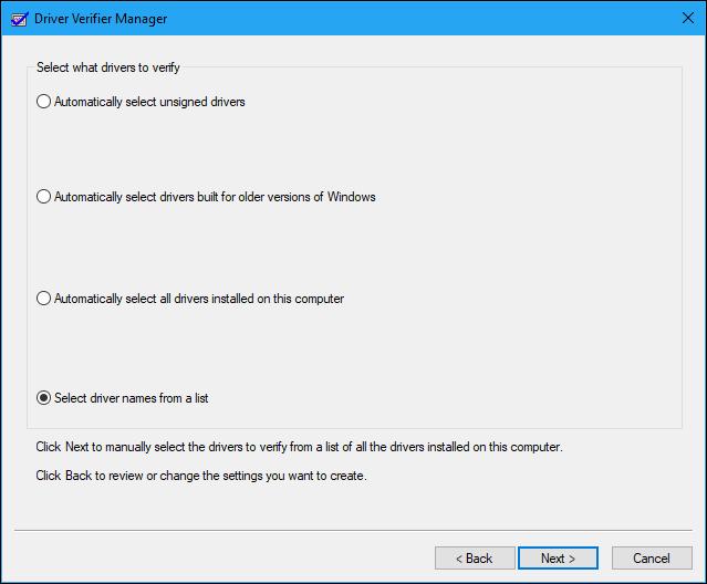 Driver Verifier در ویندوز 10 و کاربردهای آن