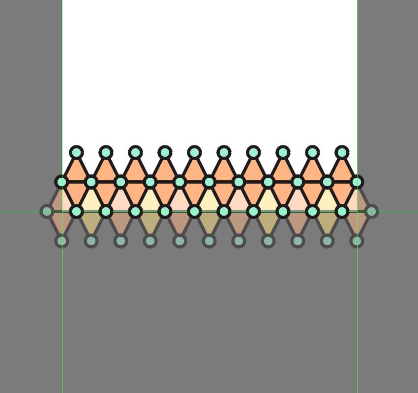 طراحی الگوهای خطی در ادوبی ایلاستریتور