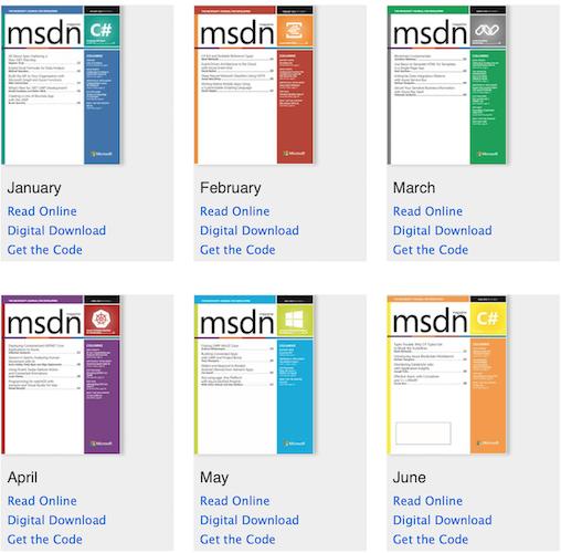 مجله MSDN