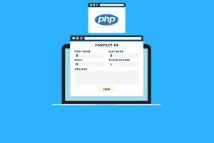 ساخت یک فرم تماس با PHP — از صفر تا صد