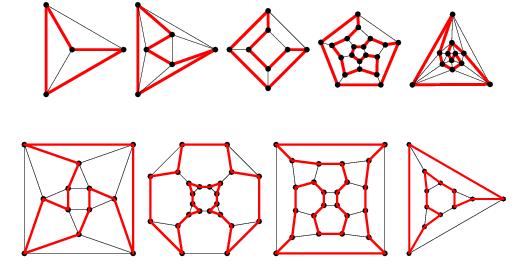 نمایش دو بعدی گراف همیلتونی
