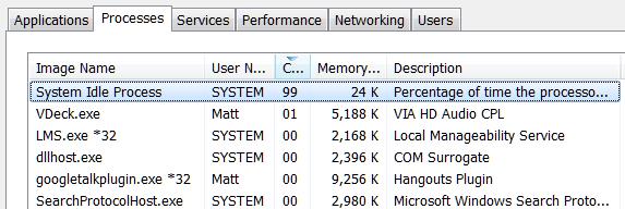 مصرف زیاد CPU در ویندوز و راههای رفع آن