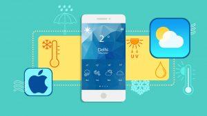 آموزش استفاده از اپلیکیشن Weather در گوشی های آیفون – آموزک [ویدیوی آموزشی]