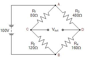 مثالی از مدار پل وتستون