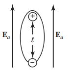 یک اتم در حضور میدان خارجی