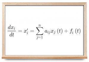 دستگاه معادلات دیفرانسیل ناهمگن با ضرایب ثابت — از صفر تا صد