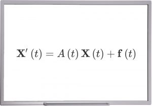 دستگاه معادلات دیفرانسیل خطی با ضرایب متغیر — از صفر تا صد