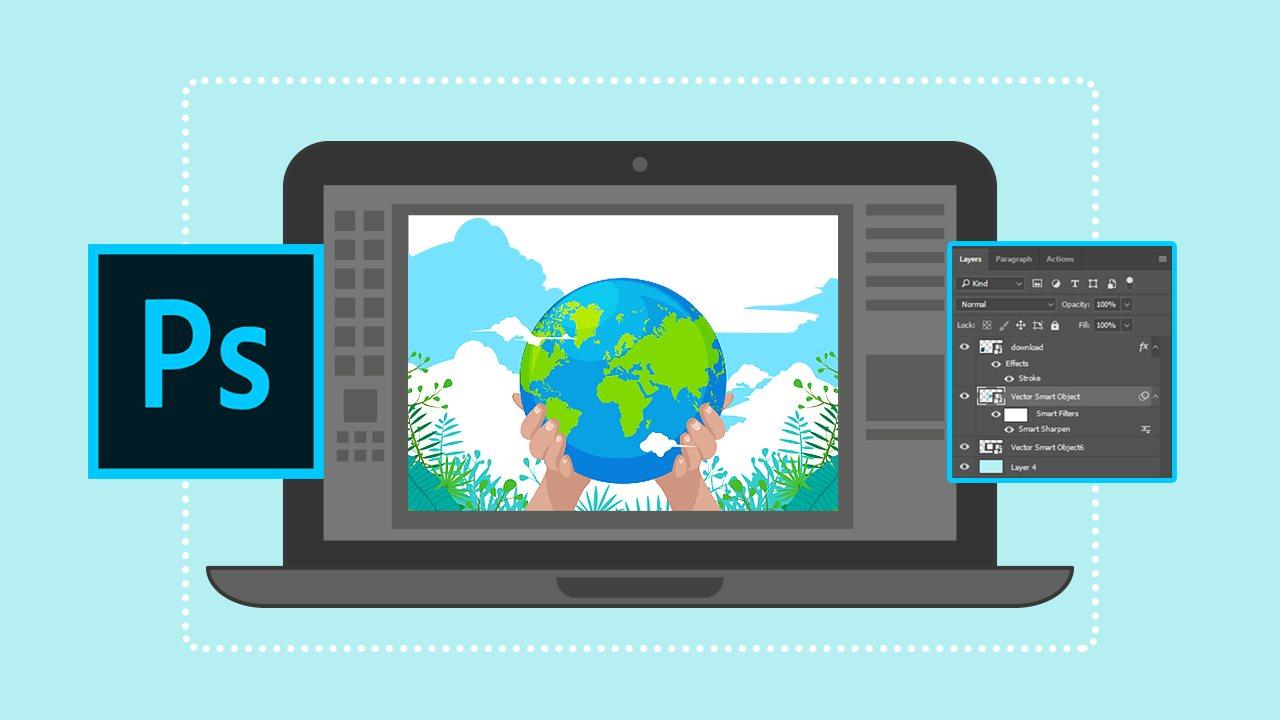 اصلاح مات شدگی تصاویر در فتوشاپ با لایههای هوشمند — آموزک [ویدیوی آموزشی]