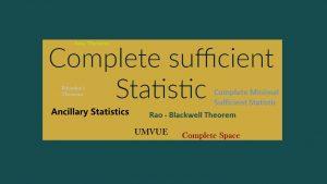 آماره کامل و آماره کمکی — به زبان ساده