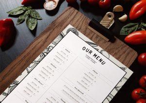 آموزش طراحی منوی رستوران در InDesign – راهنمای گام به گام