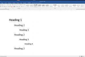 ویرایش استایل های پیشفرض سرتیتر در Word – راهنمای کاربردی