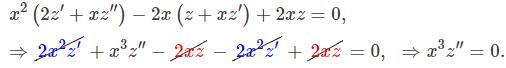 معادلات دیفرانسیل مرتبه دوم