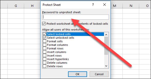 حفاظت از فایل های اکسل