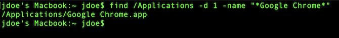ترمینال سیستم عامل مک