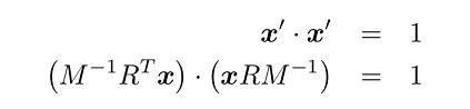 معادله دایره واحد