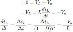 معادله مبدل باک در مد کاری دوم