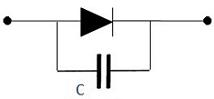 مدار معادل خلاصه شده دیود شاتکی