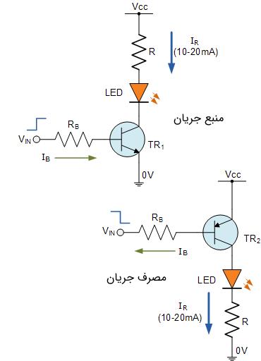 مدار درایور ترانزیستوری
