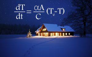 تحلیل گرمایی خانه با معادلات دیفرانسیل — از صفر تا صد
