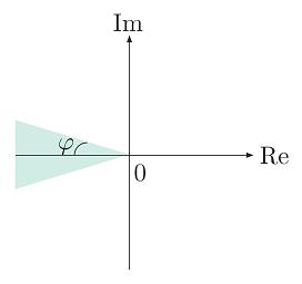 موقعیتهای ممکن قطبها برای ناحیه $$ M_p \le c $$