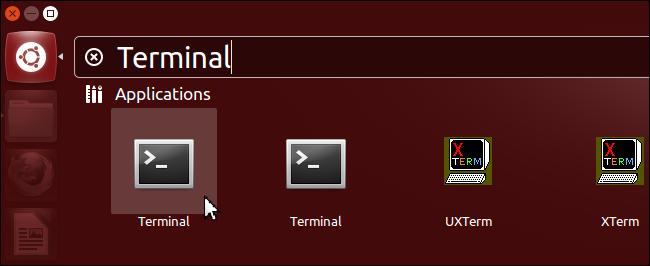 ترمینال لینوکس