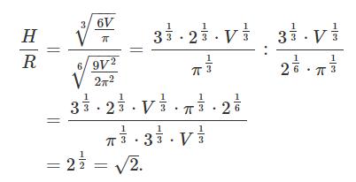 نسبت H به R
