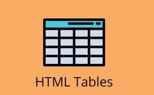 جداول در HTML — راهنمای جامع