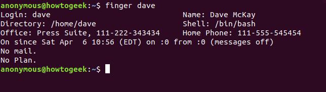 تشخیص حساب کاربری جاری لینوکس