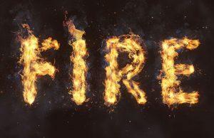 ساخت جلوه متن شعله ور در فتوشاپ — راهنمای گام به گام