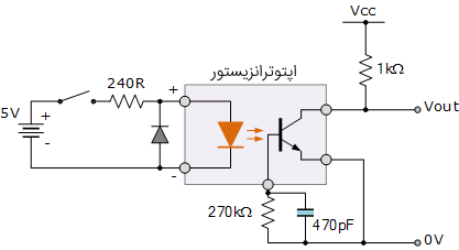 سوئیچ DC اپتوترانزیستوری