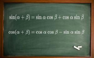 سینوس و کسینوس جمع دو زاویه — به زبان ساده