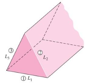 مجرای مثلثی