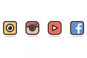 طراحی آیکون های شبکه های اجتماعی در ایلاستریتور (+ دانلود فیلم آموزش گام به گام)