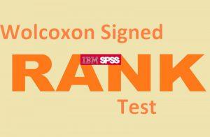 آزمون ویلکاکسون رتبه علامت دار — اجرا در SPSS