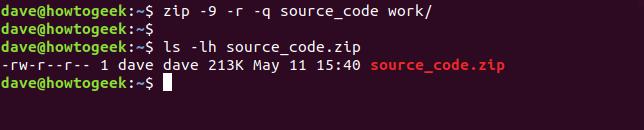 Zip یا Unzip کردن فایلها