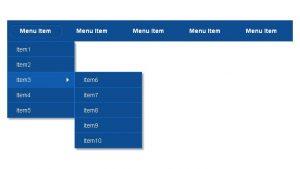 ایجاد نوار ناوبری واکنش گرا با HTML ،CSS و جی کوئری – از صفر تا صد