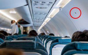 صندلی ویلیام شاتنر در هواپیما