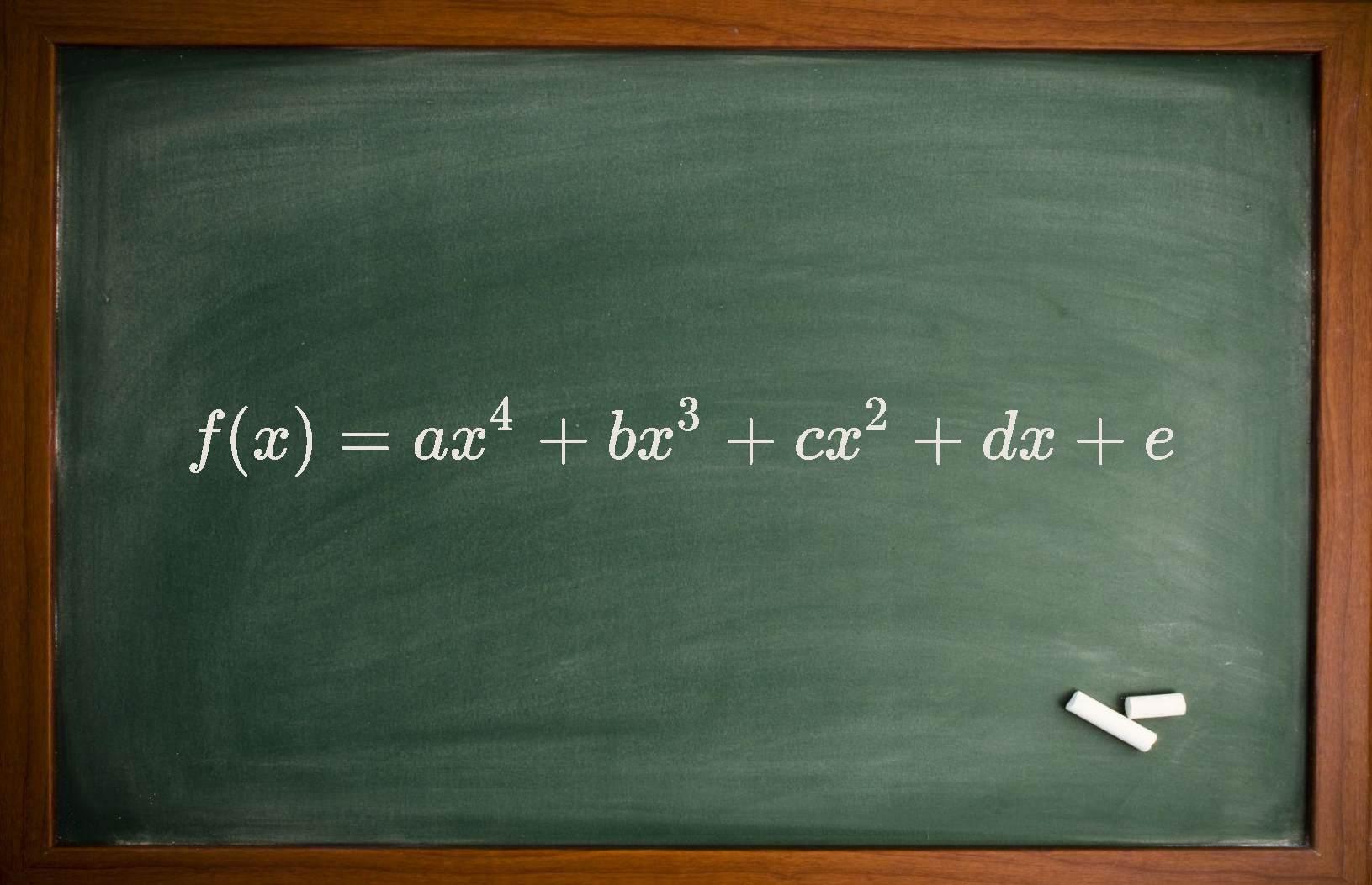 معادله درجه چهار — از صفر تا صد